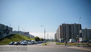 Светофор на улице Борисовские пруды