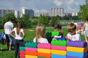 Дети в Братеевском парке