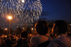 Фестиваль фейерверков в Братеевском парке
