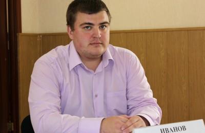 Депутат муниципального округа Братеево Сергей Иванов