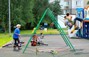 Дети района Братеево