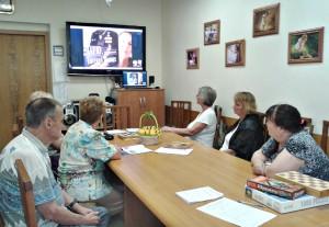 Клиенты центра соцобслуживания района Братеево на онлайн-презентации