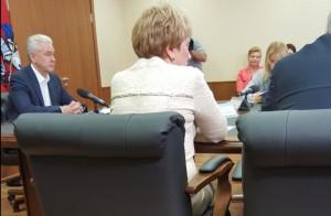 Собянин рассказал о перспективах развития Щербинки