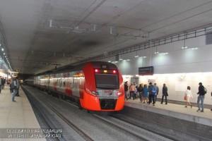 Станция МЦК в Москве