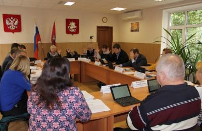 Заседание Совета депутатов муниципального округа Братеево