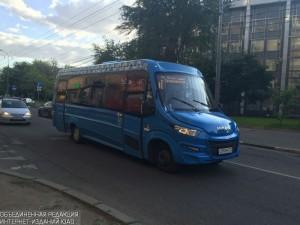 Частный автобус в Южном округе