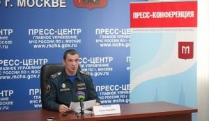 Заместитель начальника Главного управления МЧС России по городу Сергей Лысиков