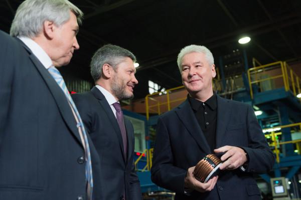 За6 лет в столице России выстроено неменее 100 индустриальных объектов— Собянин