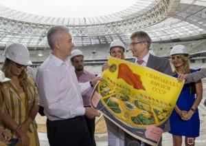 Собянин рассказал о реконструкции стадиона «Лужники» в Москве