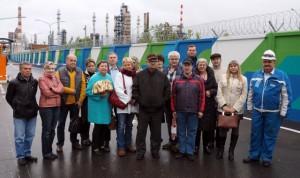 Делегация из района Братеево посетила Московский нефтеперерабатывающий завод