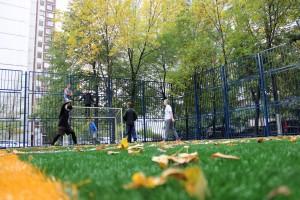 Спортивная площадка в районе Братеево