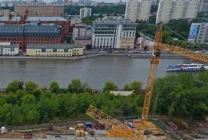 Плавучий бассейн на реке может появиться на юге Москвы