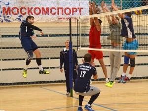 Окружной турнир по волейболу  в районе Братеево