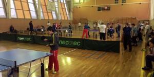 Соревнования по настольному теннису в ЮАО