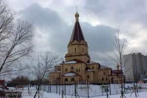 Храм в районе Братеево