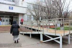 Поликлиника №210 в районе Братеево