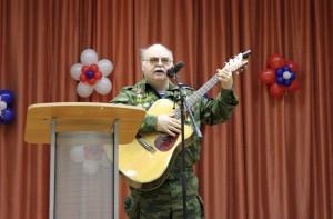 Военно-патриотический концерт в районе Братеево