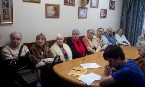 Жители района Братеево на мероприятии в библиотеке №150