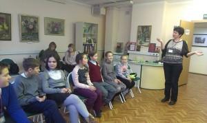 Юные жители района на интерактивной встрече «Солнечный круг, небо вокруг»