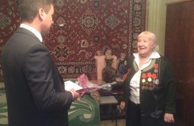 Ветеран Зоя Васильевна Бувина