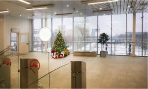 Новогоднее оформление станций МЦК
