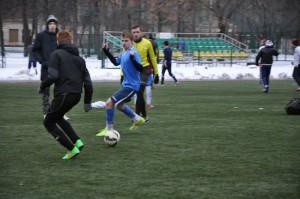Футбол на снегу завоевал сердца футболистов Южного округа