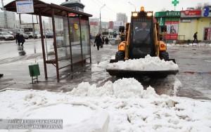 140 см снега выпало в Москве