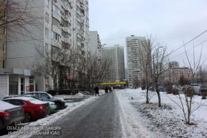 Одна из улиц в районе Братеево