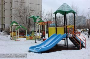 Детская площадка в районе Братеево