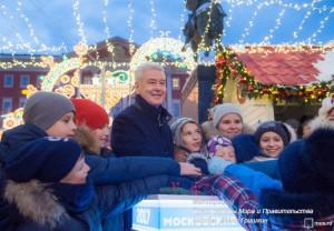 Сергей Собянин пригласил жителей отметить Новый год на площадках Москвы