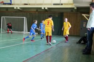 Юные футболисты команды Братеева