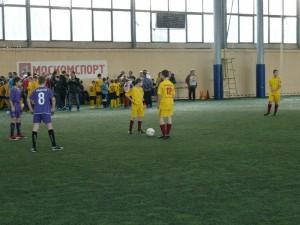 Юные футболисты района Братеево
