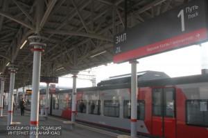 Станция МЦК в Даниловском районе