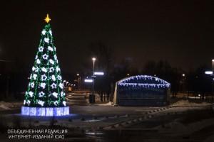"""Парк """"Садовники"""" уже традиционно стал местом для зимнего отдыха"""