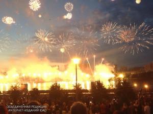 Фестиваль фейерверков в районе Братеево