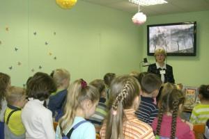 Ученики 4-х классов на встрече, посвященной Дню героев Отечества