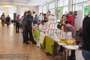 Посетители фестиваля «OrganicFest 2016» в культурном центре ЗИЛ