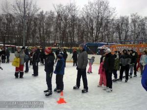 Жители района смогут научиться кататься на коньках в ЮАО