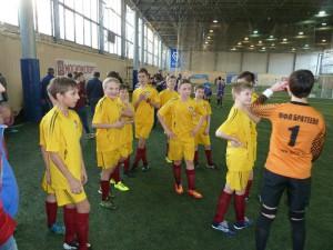 Юные футболисты команды района Братеево