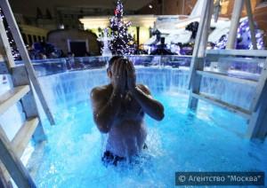 Для традиционных Крещенских купаний подготовлены 59 мест на водоемах Москвы