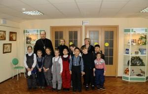 Детям рассказали о празднике Крещения в библиотеке №150