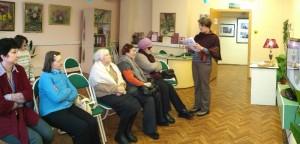 Жители района на встрече, посвященной Викентию Вересаеву