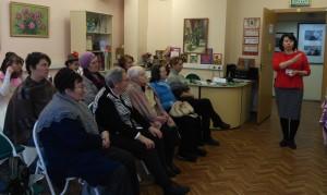 Жители района Братеево на встрече в библиотеке №150