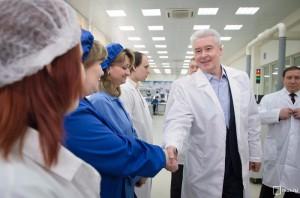 По словам Сергея Собянина, власти Москвы активно поддерживают промышленный сектор