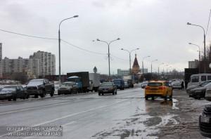 Улица в районе Братеево