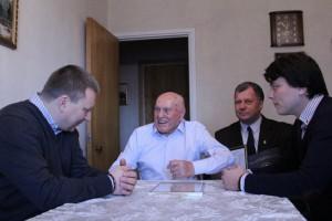 Разведчику, Герою Российской Федерации Алексею Николаевичу Ботяну исполнилось 100 лет