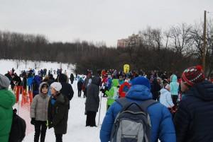 """Окружнй этап соревнований по лыжным гонкам  на """"Нижнецарицынской"""" лыжной трассе"""