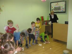 Юные участники мероприятия в детской библиотеке на Ключевой