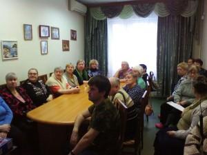 Посетители мероприятия в ТЦСО в Братееве