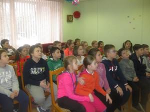 Юные посетители библиотеки на Ключевой